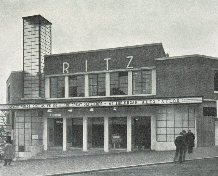 Undated picture of the Ritz Cinema in the town centre.