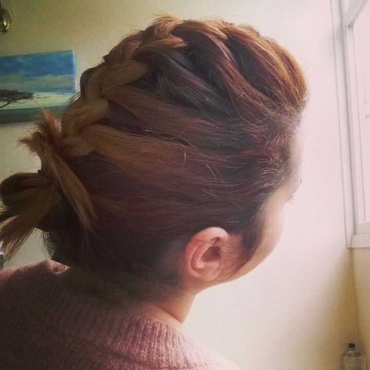 #hairstyle #braid #shorthair