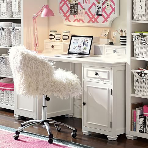 White Desk For Girls Room Mesmerizing Best 25 Cute Desk Chair Ideas On Pinterest  Desk Space Office Decorating Design