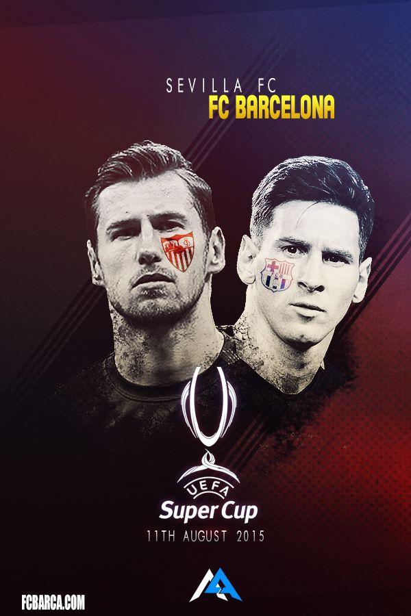 UEFA SuperCup! FC Barcelona - Sevilla !Facebook