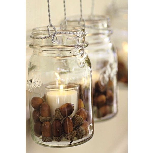 Autumn Wedding Ideas Acorns ❤ liked on Polyvore