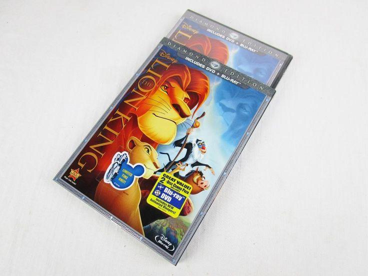Disney DVD + Blu-ray - The Lion King -- Diamond Edition (New) Slipcover #Disney
