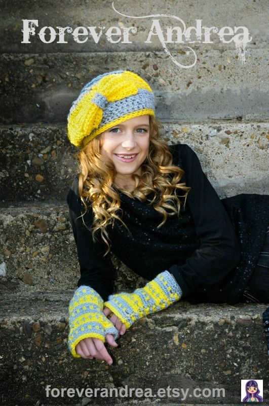 Tween Fashion at Forever Andrea.  Find accessories you won't find anywhere else, including crochet hats & texting mittens, hair accessories, jewelry & Kindle Fire HD cases.  http://www.etsy.com/shop/foreverandrea