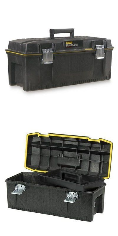Bags Belts and Pouches 42362: Stanley 028001L 28 Fatmax Structural Foam, Water-Resistant Tool Box -> BUY IT NOW ONLY: $41.65 on eBay!