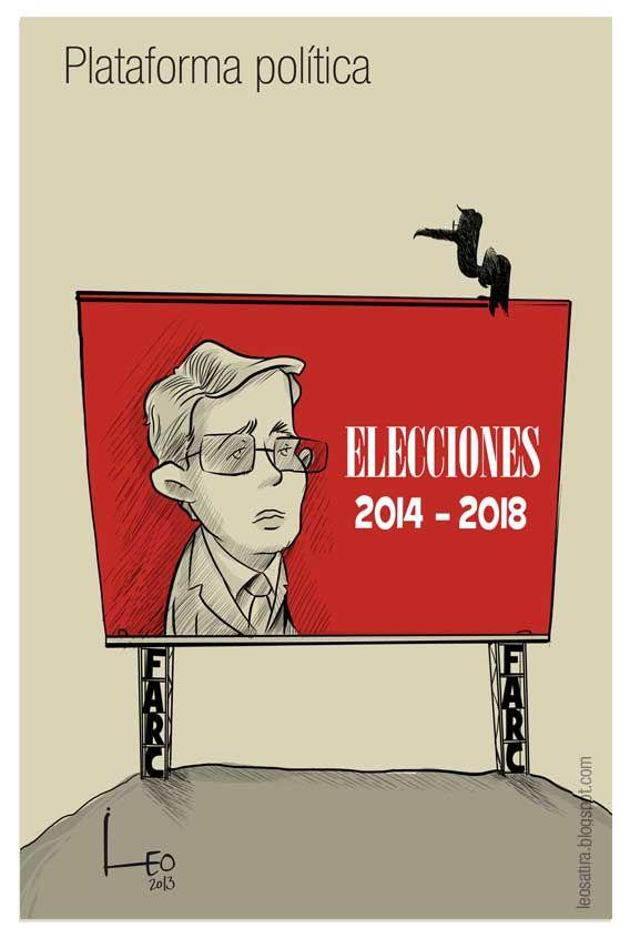 Nuevamente las FARC haciéndole campaña a Uribe