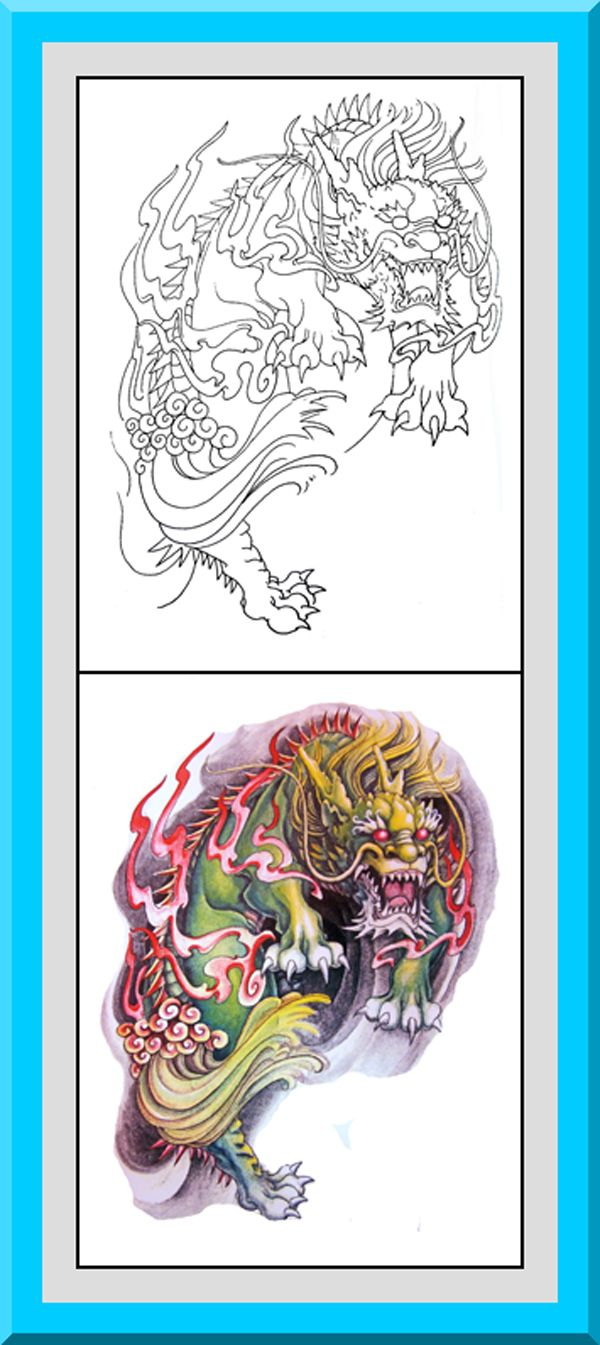 "Printable Japanese Style Coloring Pages 30 High definition coloring pages, black outlines with colored examples. This Japanese style coloring page is from ""Japanese Coloring Book"" available for $2.89 at Etsy.  Printable coloring pages for adults and big kids."