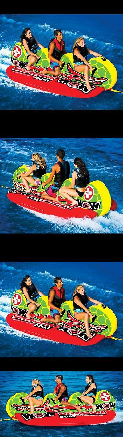 Other Water Sports 159151: New World Of Watersports Wow Dragon Boat 3 Rider Towable Banana Water Tube -> BUY IT NOW ONLY: $389.15 on eBay!