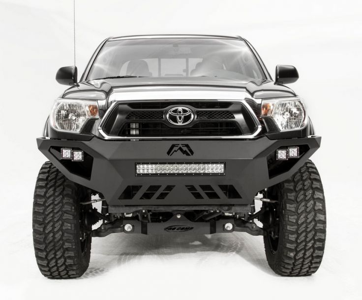 Fab Fours TT12-D1651-1 Vengeance Front Bumper with No Guard Toyota Tacoma 2012-2015