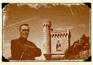 An original picture of the millionaire priest Berenger Sauiere of Rennes le Chateau.