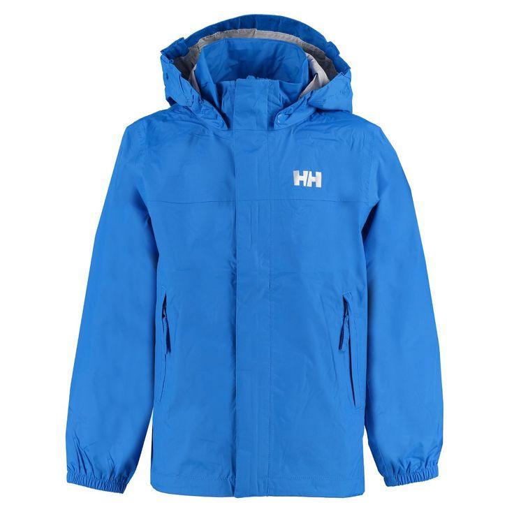 Kinderen gaan comfortabel naar buiten met deze lichtgewicht regenjas van Helly Hansen. Waterproof, windproof en ademend. Ideaal om mee te nemen omdat het als klein pakketje in een van de zakken opgeborgen kan worden!