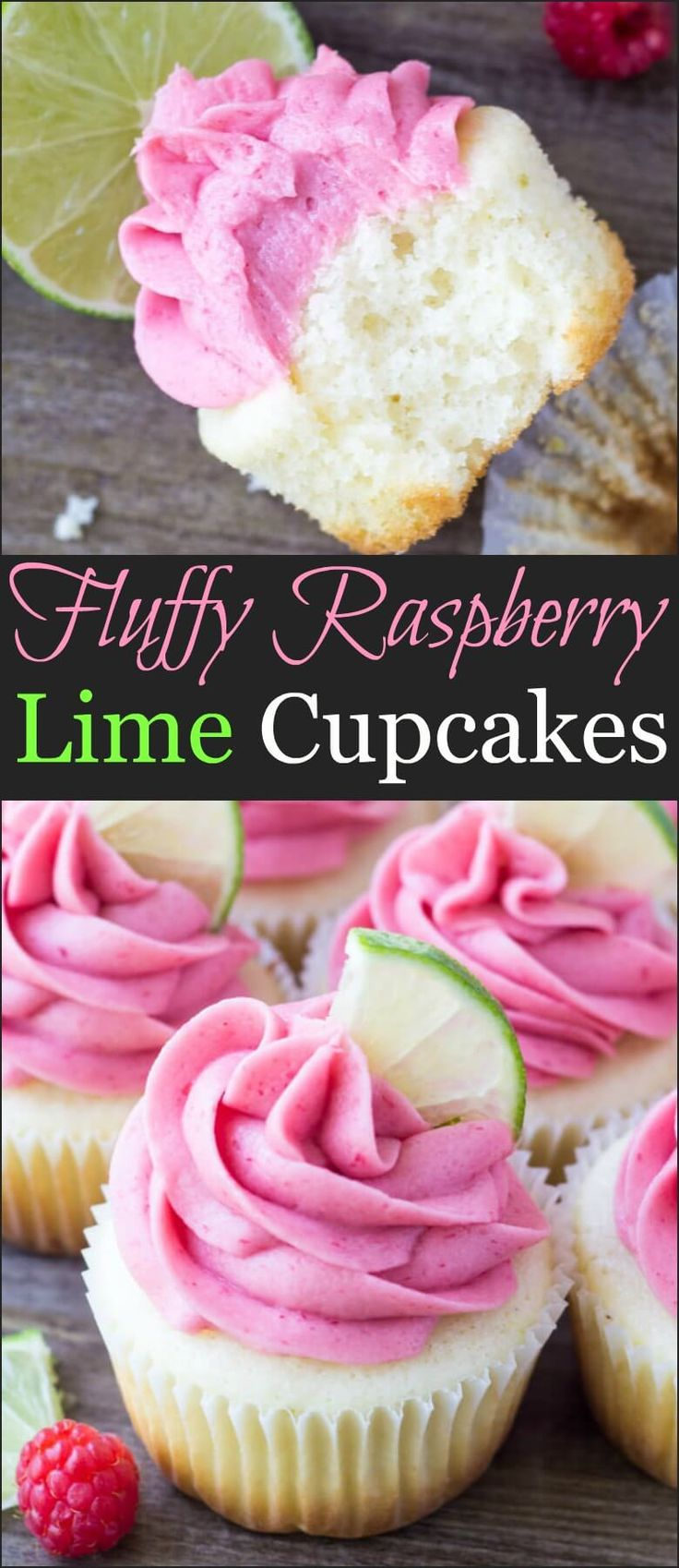 How to make fluffy raspberry lime cupcakes and have them turn out perfectly moist! ohsweetbasil.com