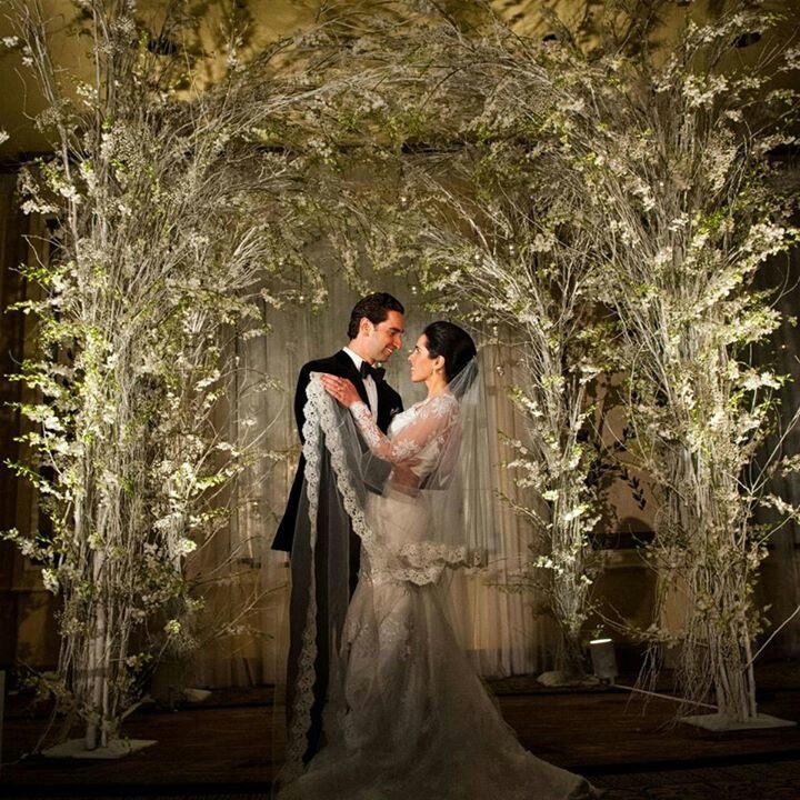 Magical Wedding Backdrop Ideas: Magic Forest Wedding Arches