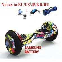 No tax to US/EU/JP/KR 10 inch Electric Scooter Bluetooth Balancing Hoverboard self Smart Balance Two 2 Wheel Standing Scooters //Price: $US $246.05 & FREE Shipping //     #tshirt