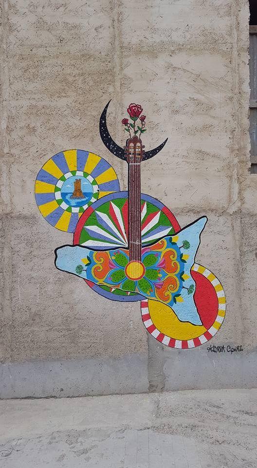 Chitarra siciliana, in onore di Rosa Balistreri. Licata. Andrea c.