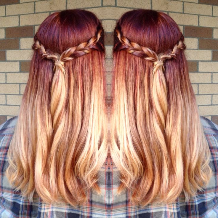 best 25 red blonde ombre ideas on pinterest red to