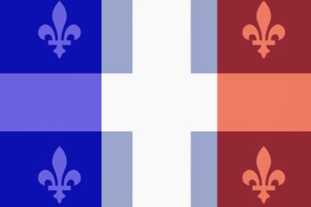 The difference between Quebec French and Metropolitan French.