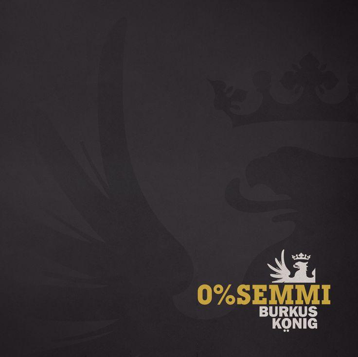 The final version of Burkus König's 0% SEMMI cover sleeve by #Csípős