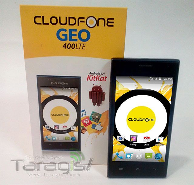 CloudFone Geo 400 LTE now available at Globe PostPaid Plan 349