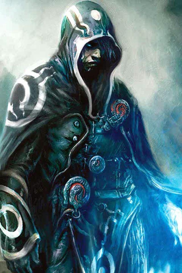 Assassin, hood, cloak, mysterious, patterns, magic ...