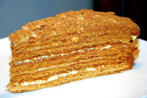 Russian honey cake. My mom makes it best!
