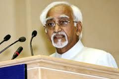 The Vice President of India M. Hamid Ansari