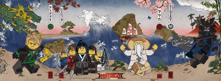 The Lego Ninjago Movie - banner poster -> https://teaser-trailer.com/movie/ninjago/  #TheLegoNinjagoMovie #TheLegoNinjagoMovie #Movieposter