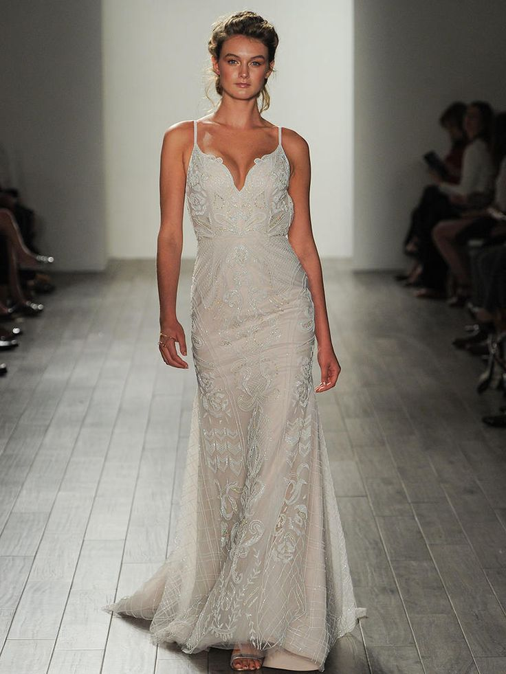 Awesome Hayley Paige Fall Shimmering Ethereal Wedding Dresses
