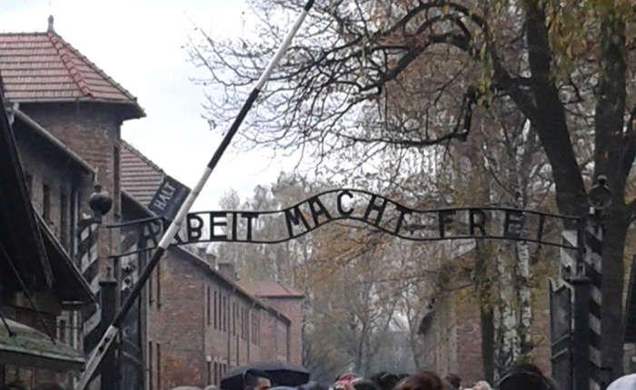 Visita a Auschwitz (campos de concentración) (Polonia)