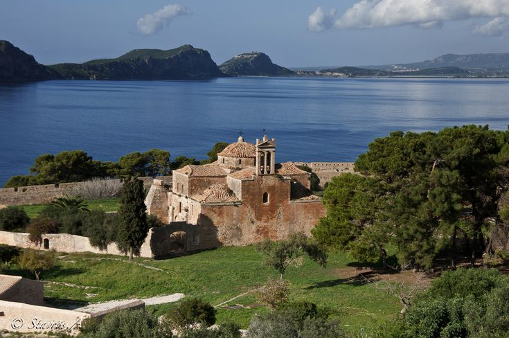The fortress of Pylos (Navarino) / Greece August 2014 -- Beautiful