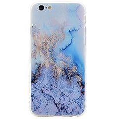 Til Etui iPhone 7 Etui iPhone 7 Plus Etui iPhone 6 Mønster Etui Bakdeksel Etui Marmor Myk Akryl til AppleiPhone 7 Plus iPhone 7 iPhone 6s – NOK kr. 62