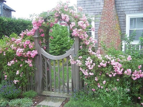 F L A S H D E C O R - Дверь в сад