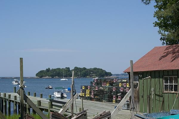 Lobster Shack in The Thimble Islands, Stony Creek, Branford, Connecticut