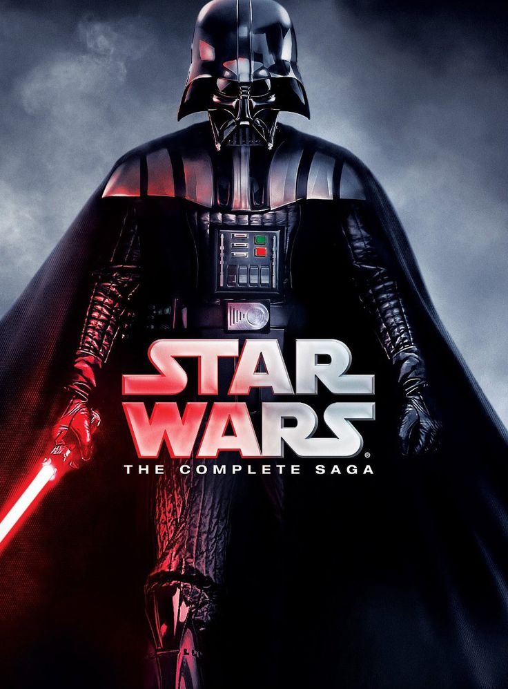 Star Wars: The Complete Saga 1-6 (DVD Box Set, 2011, 12 Discs)