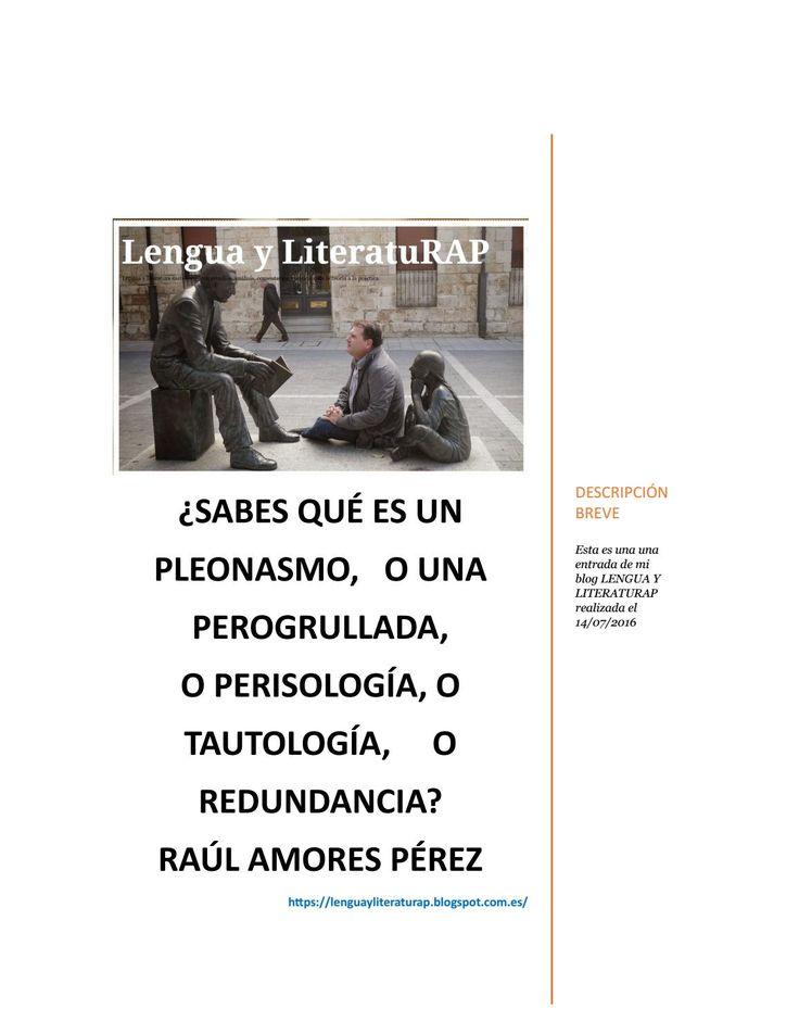 Lengua y literaturap, tu blog perisologíadocx