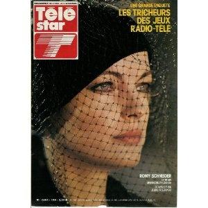 """Romy Schneider : """"Le Train"""" et """"Le vieux fusil"""", dans Télé Star n°160 du 23/10/1979 [couverture isolée mise en vente par Presse-Mémoire]"""