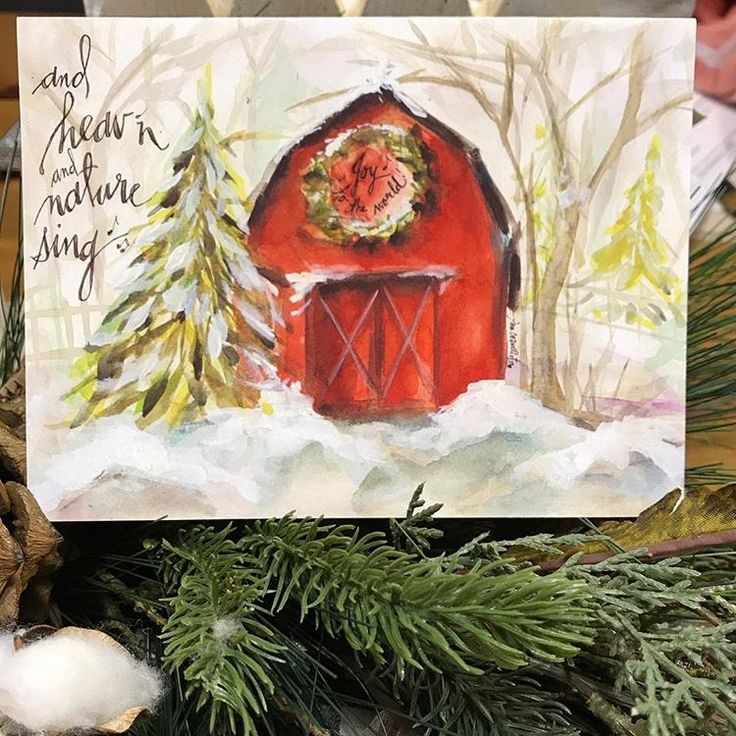 The Christmas on the Farm Collection was inspired by the ...