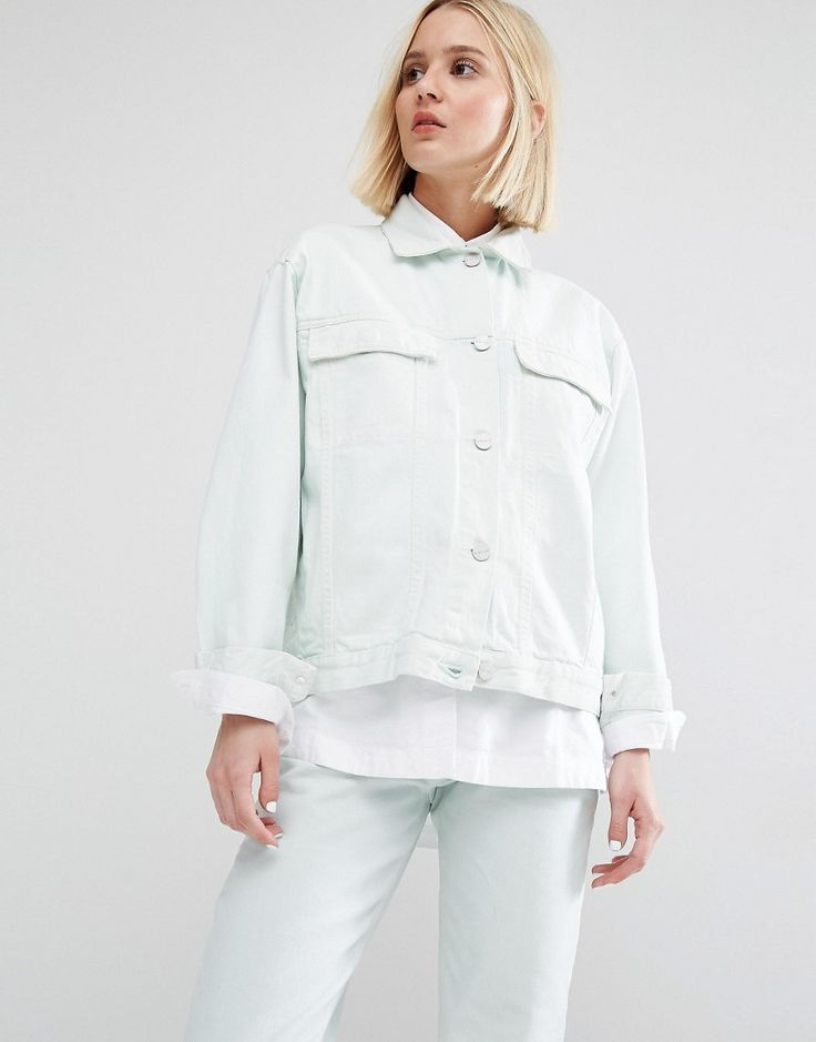 Image 1 of Waven Karin Boyfriend Denim Jacket