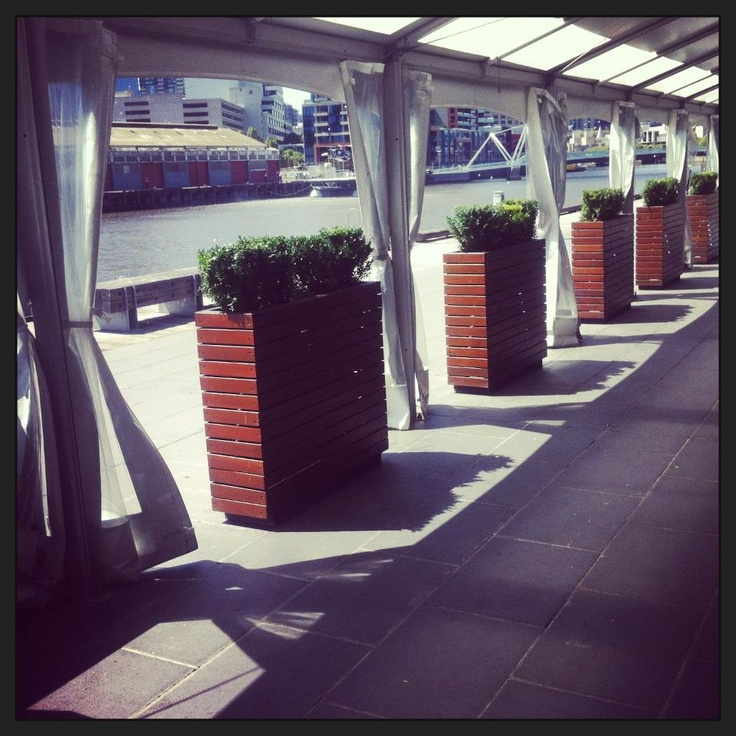 Showtime Events Centre's Stunning Riverside Terrace