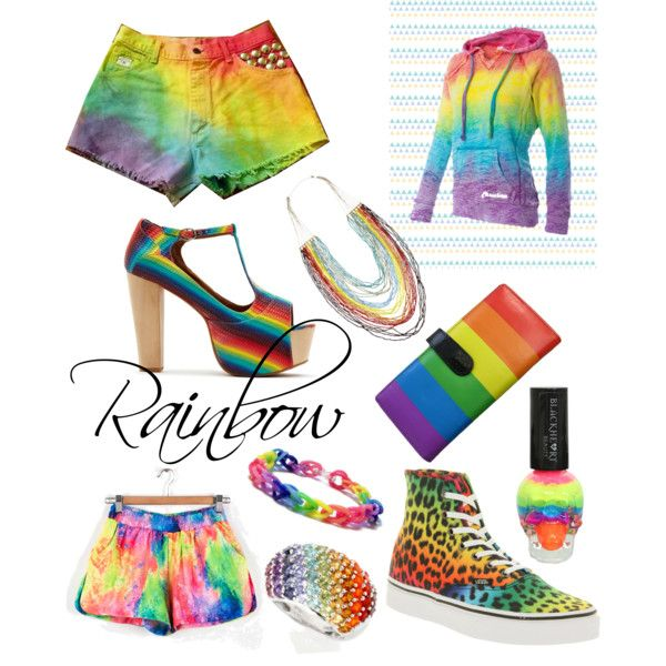 rainbow clothes and accessories rainbow stuff
