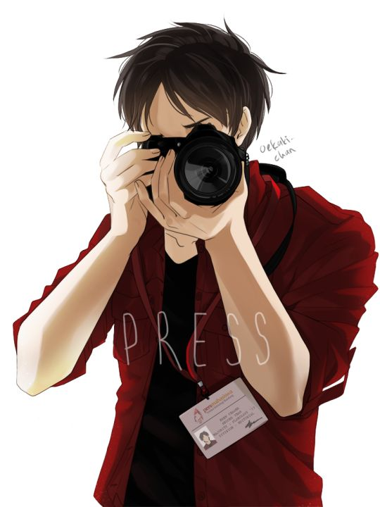 I could see Eren as a journalist. One of those super annoying and persistent ones. The ones who'll do anything to uncover the true story