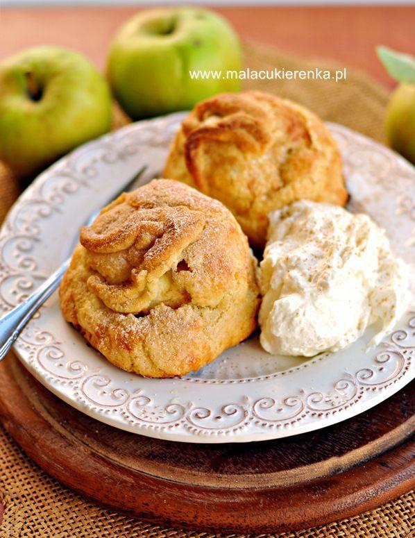jablka w szlafroczkach