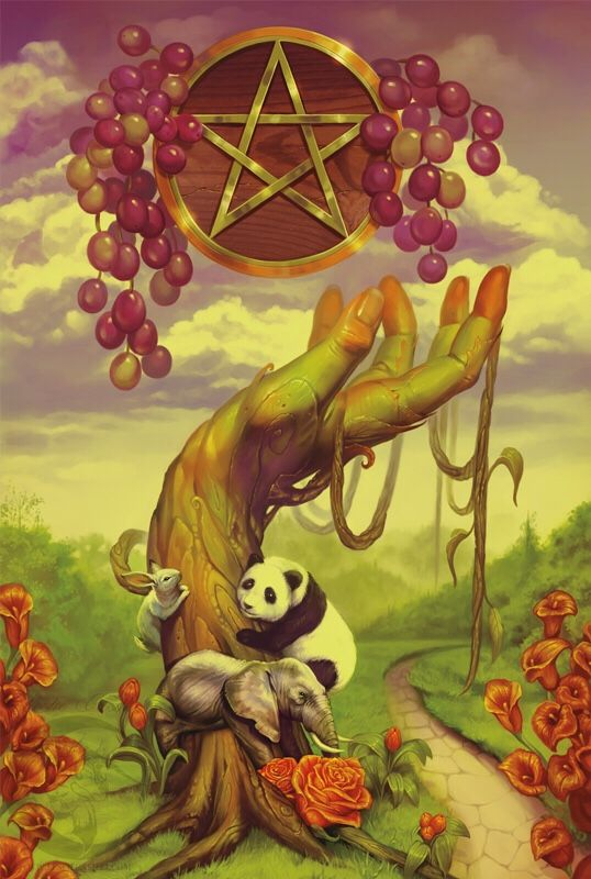 Card of the Day - Ace of Pentacles - Tuesday, November 13