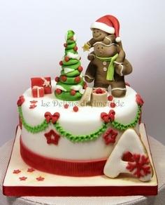Christmas cake christmas cakes Pinterest Discover ...