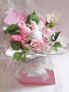 Ideas to make or buy nappie cakes