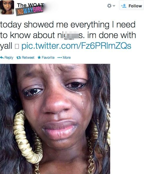No Way Girl. Heart Broken on Valentine's Day? Cry Some Tears Then Send a Tweet  ---- best hilarious jokes, funny pictures, walmart humor, fails