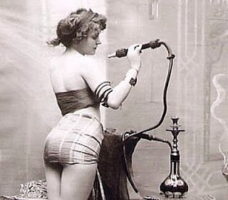 1800's prostitutes | The titilating image of a lady drug addict...