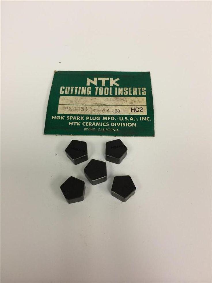 ORIGINAL NTK Metalworking Cutting Tool Ceramic Insert Tips PNG454 C=0.4 HC2 #NTK
