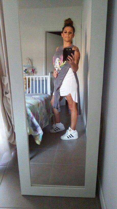 #adidas #scarpe #vestito #withe #capellilegati #