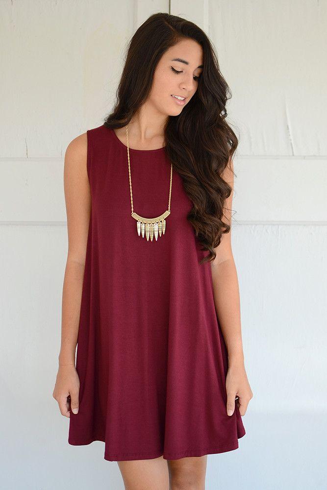 Everyday Swinging Dress www.shoppage6.com