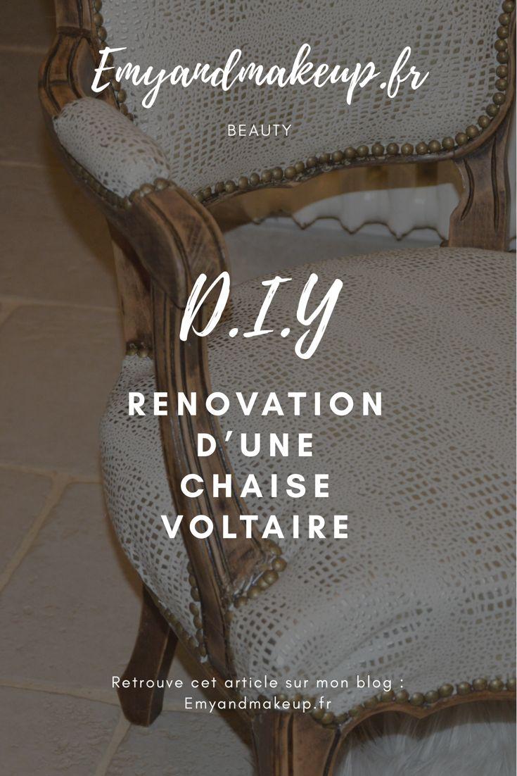 DIY : Rénovation d'une chaise voltaire